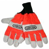 Oregon 91305 Chainsaw Gloves L/Hand Protection Large (10) - 91305L